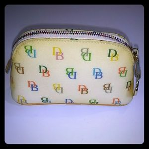 DOONEY & BOURKE VINTAGE MONOGRAM DB POUCH